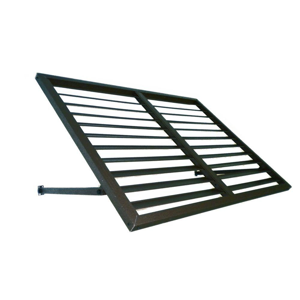 4.6 ft. Ohio Metal Shutter Awning (56 in. W x 24