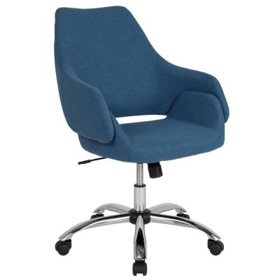 Blue Fabric Office/Desk Chair