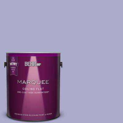 1 gal. #M550-4 One-Coat Hide Tinted to Wisteria Blue Interior Ceiling Paint
