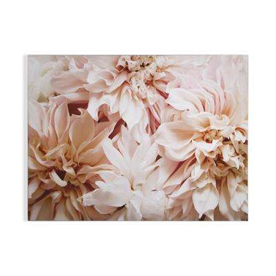 """32 in. x 24 in. """"Blushing Blooms"""" Printed Wall Art"""
