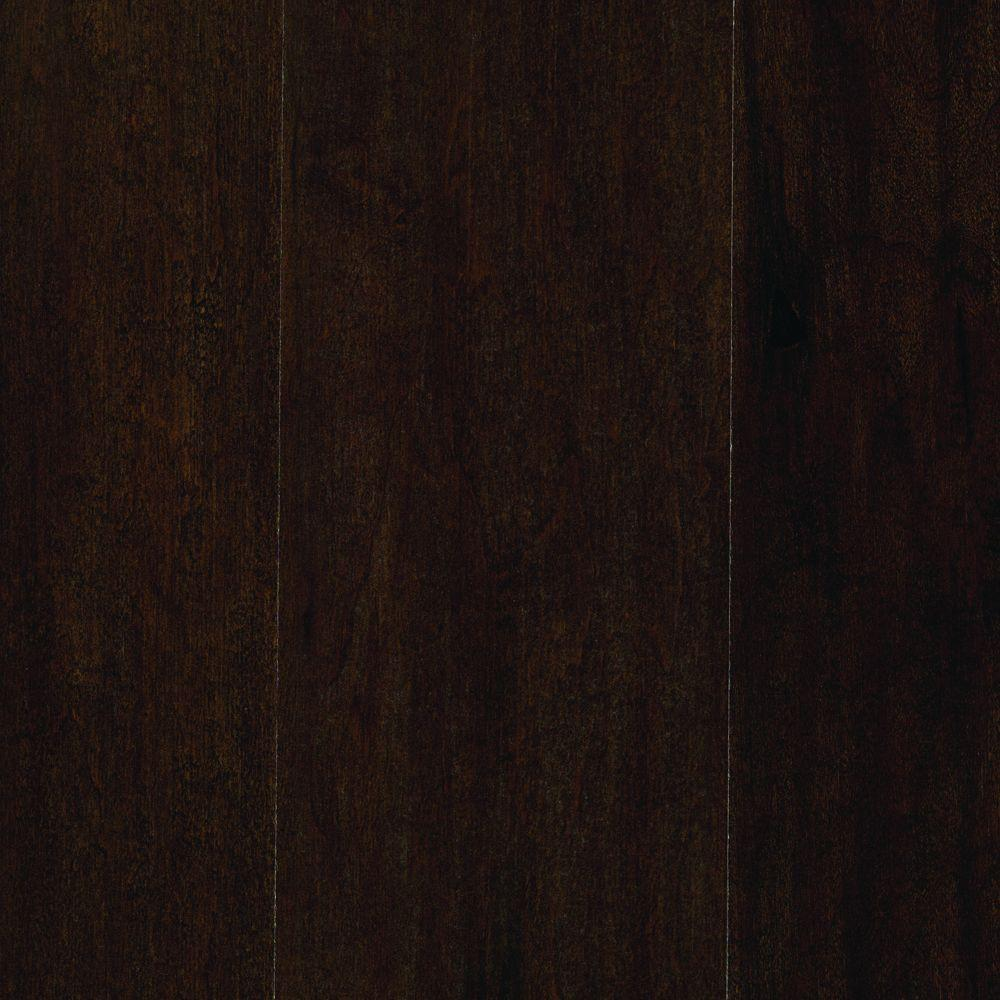 Mohawk Take Home Sample Marissa Chocolate Maple Laminate Flooring 5 In X 7