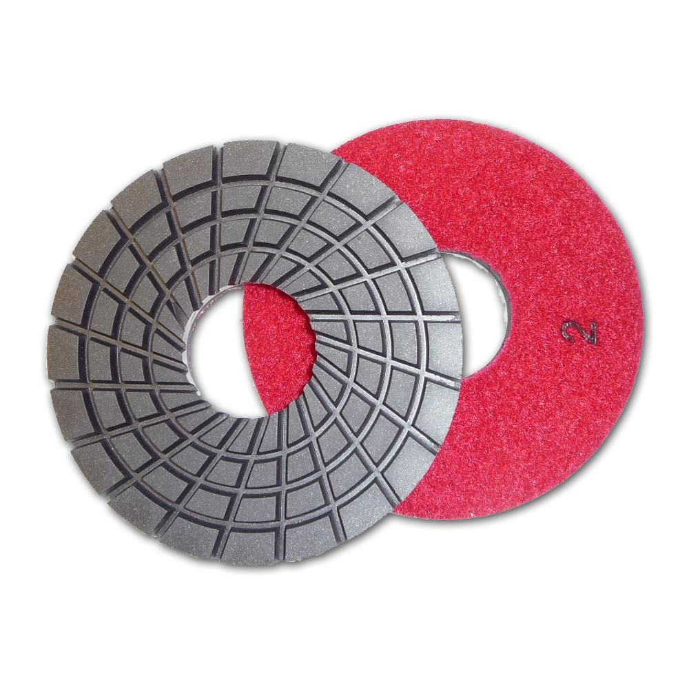 5 in. Con-Shine Dry 5-Step Diamond Polishing Pads Step 2
