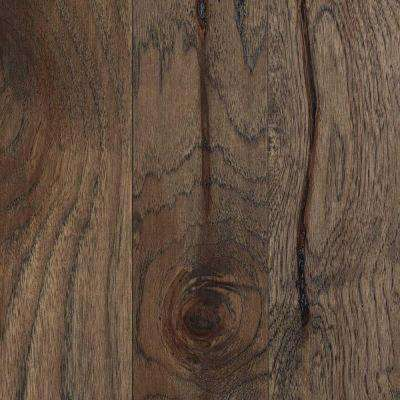 Take Home Sample - Hamilton Weathered Hickory Engineered Hardwood Flooring - 5 in. x 7 in.