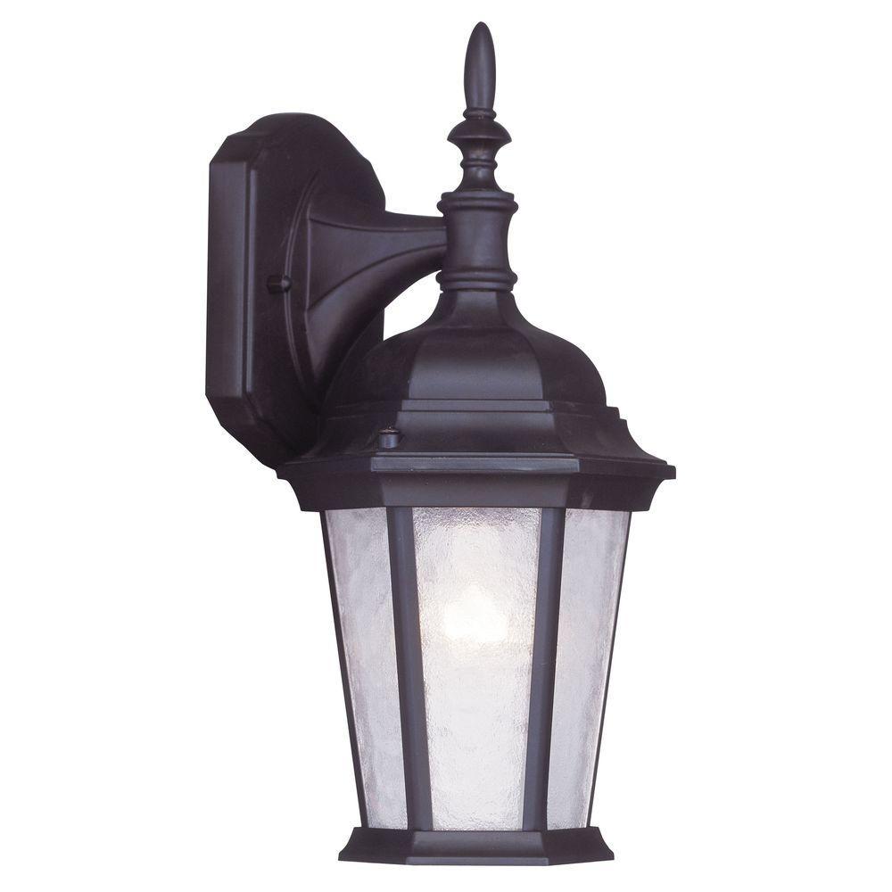 Livex Lighting 1-Light Outdoor Bronze Wall Lantern