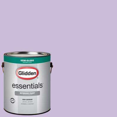 1 gal. #HDGV55U Soft Violet Semi-Gloss Interior Paint