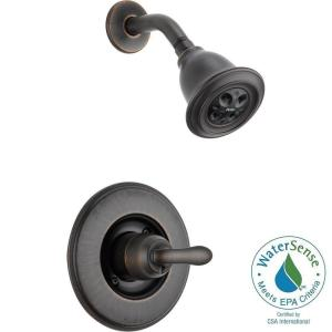 Linden 1 Handle 1 Spray Shower Only Faucet Trim Kit In Venetian Bronze With