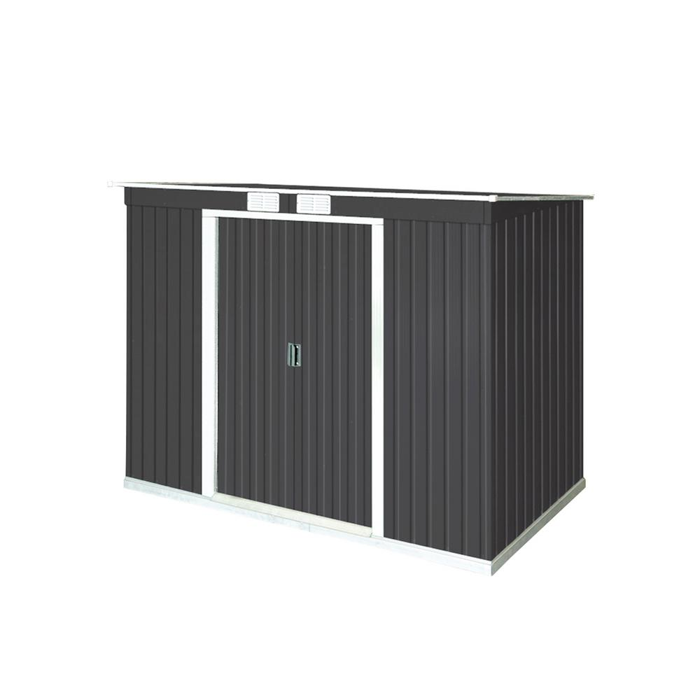 Duramax Building Products Pent Roof 8 ft. x 4 ft. Dark Gr...