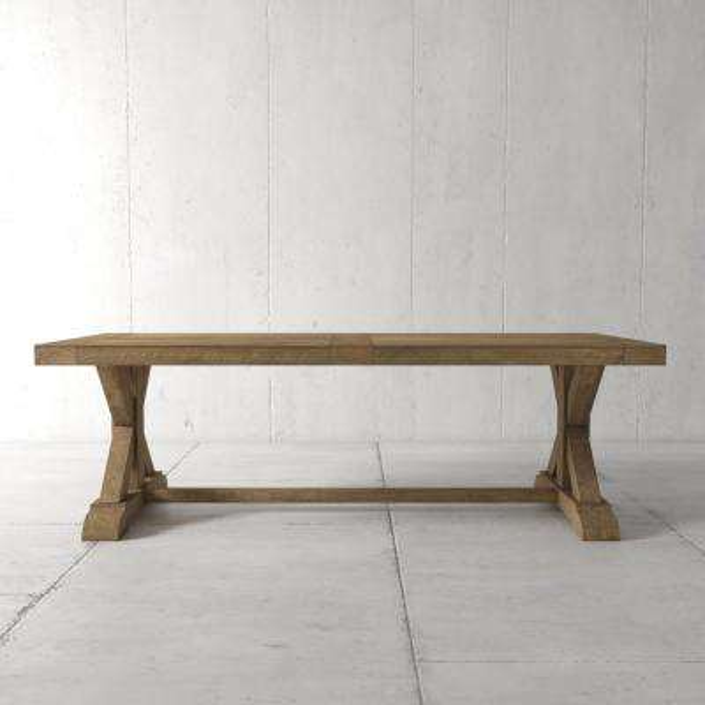 Madera 98 in. Natural Dining Table