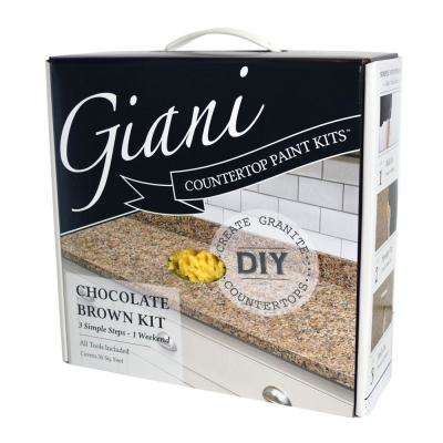 Chocolate Brown Countertop Paint Kit