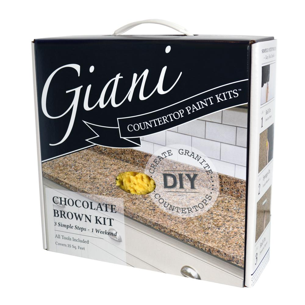 Giani Granite Chocolate Brown Countertop Paint Kit