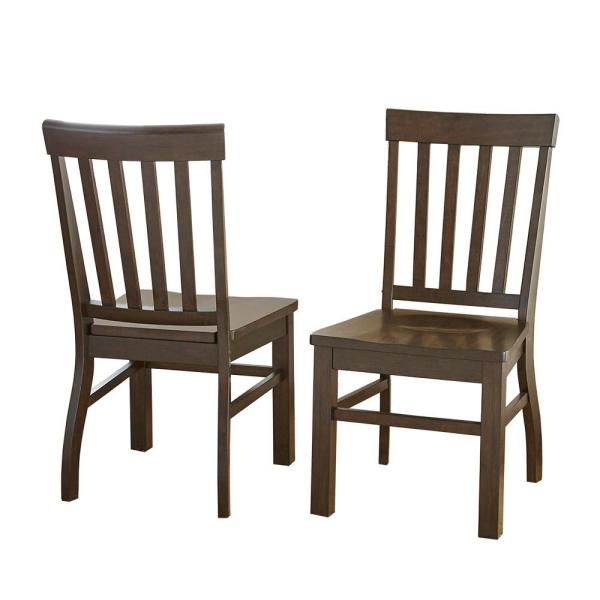 Steve Silver Company Cayla Dark Oak Side Chair Set Of 2 Cy400sk