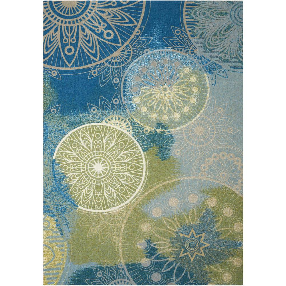 Home and Garden Blue 5 ft. 3 in. x 7 ft.