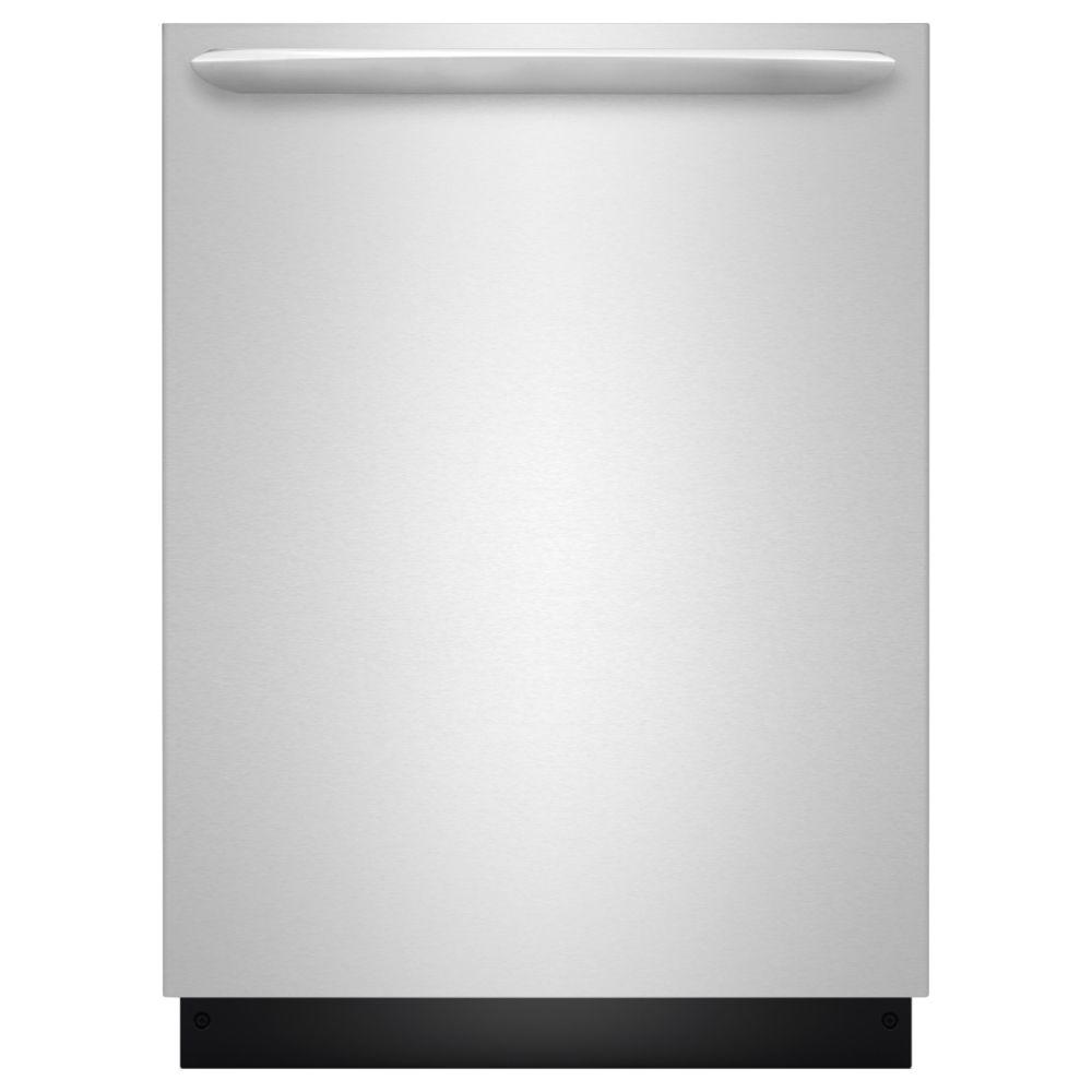 Frigidaire Gallery Top Control Dishwasher in Smudge Proof Stainless Steel with Stainless Steel Tub and OrbitClean