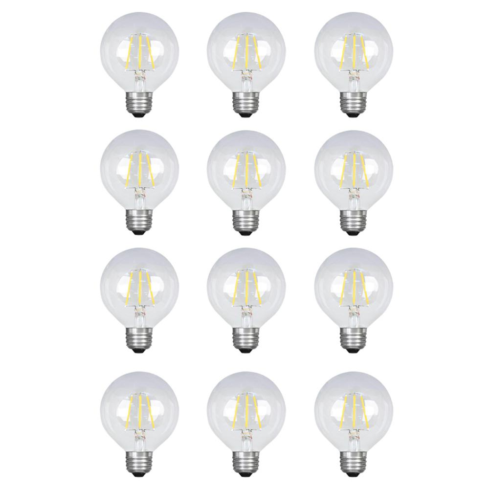 Feit Electric 40w Equivalent Daylight G25 Dimmable Clear
