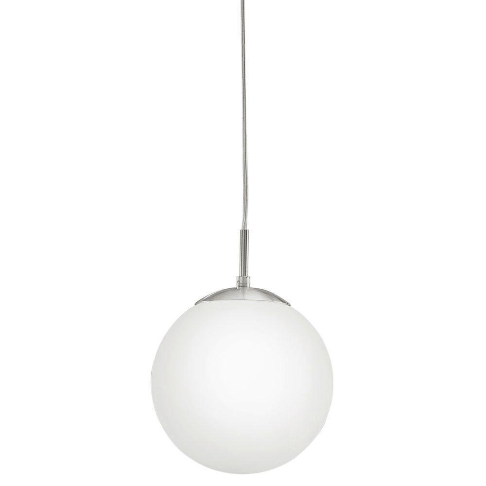 Eglo Rondo 1-Light Matte Nickel Pendant