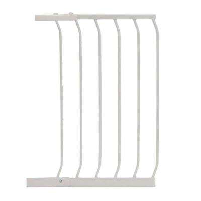 17.5 in. Gate Extension for White Chelsea Standard Height Child Safety Gate