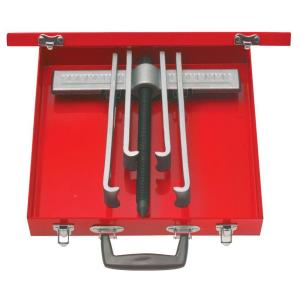 URREA 8 Piece Cased Set of 10 Ton 2 Arm Pullers with 4 Jaws by URREA