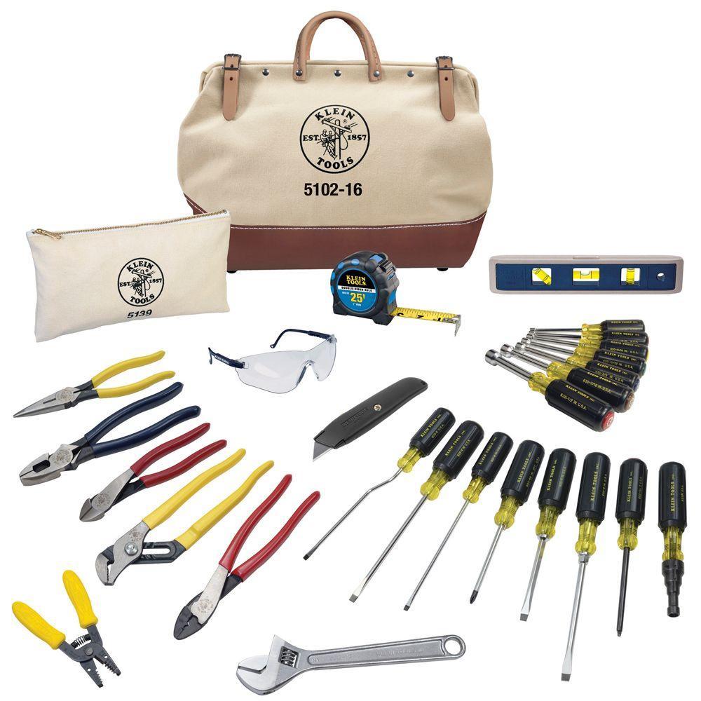 28-Piece Electrician's Tool Set