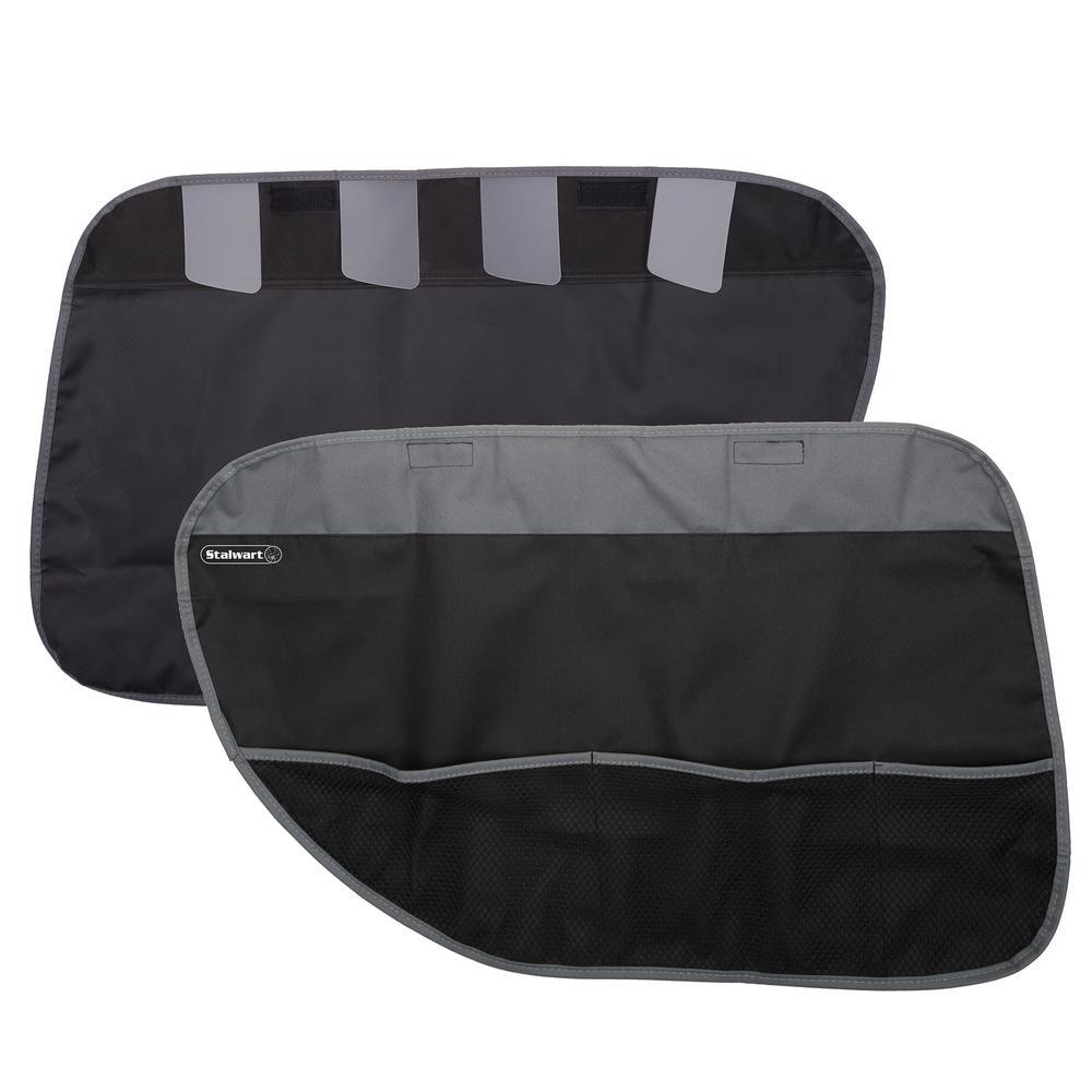 Black Pet Car Door Protector Cover (2-Pack)
