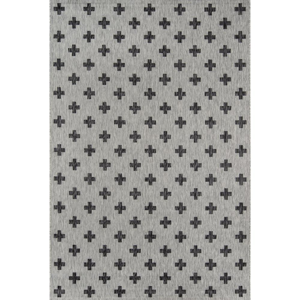 Umbria Grey 9 ft. 3 in. x 12 ft. 6 in. Indoor/Outdoor Area Rug