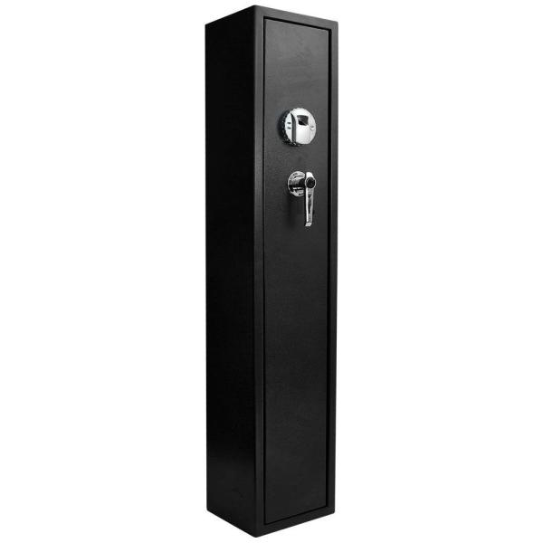 1.83 cu. ft. 4-Gun Tall Biometric Safe, Black Matte