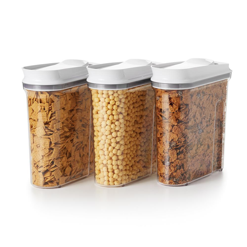 Good Grips 3-Piece POP Cereal Dispenser Set