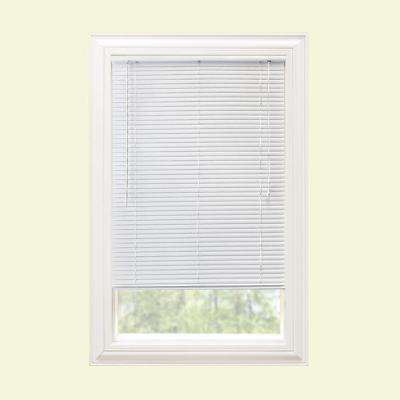 1 in. Room Darkening Corded Vinyl Mini Blind