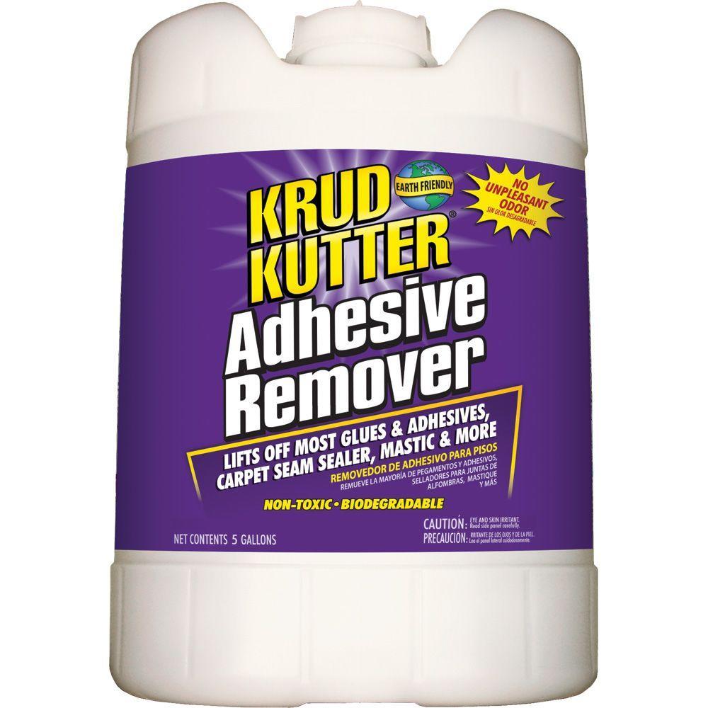 krud kutter 5 gal adhesive remover ar05 the home depot. Black Bedroom Furniture Sets. Home Design Ideas