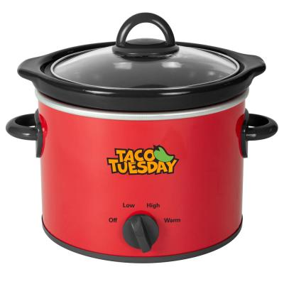 2 Qt. Red with Variable Heat Control Fiesta Slow Cooker
