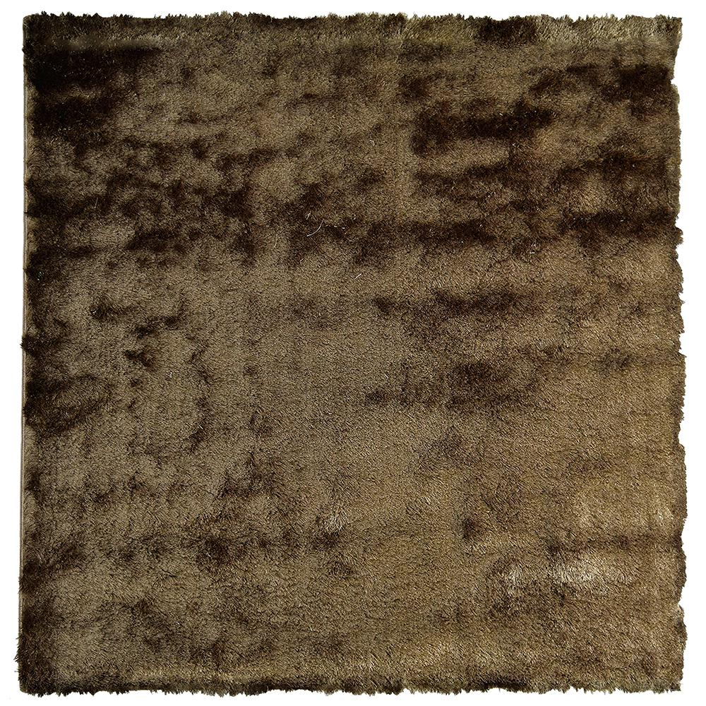 Home Decorators Collection So Silky Meteorite 3 ft. x 3 ft. Square Area Rug