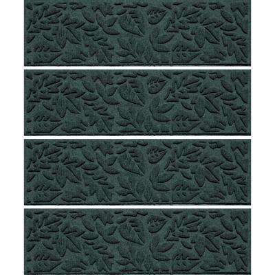 Evergreen 8.5 in. x 30 in. Fall Day Stair Tread (Set of 4)