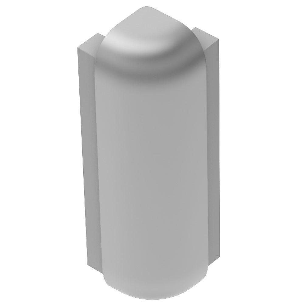 Schluter Rondec-Step Satin Anodized Aluminum 3/8 in. x 1-7 ...