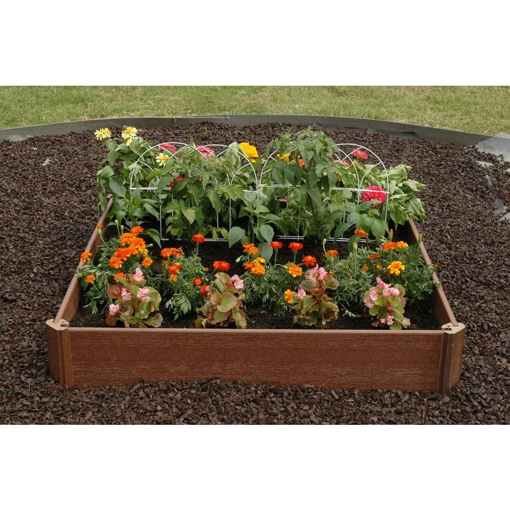 Greenland Gardener 42 In. X 42 In. Raised Garden Bed Kit 105981   The Home  Depot