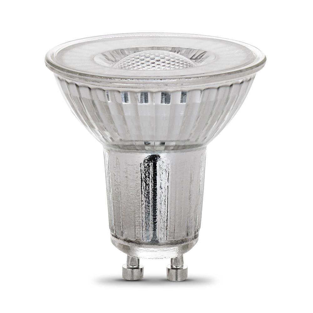 35-Watt Equivalent MR16 GU10 Dimmable CEC Title 20 Compliant LED 90+ CRI Flood Light Bulb Bright White (3-Pack)