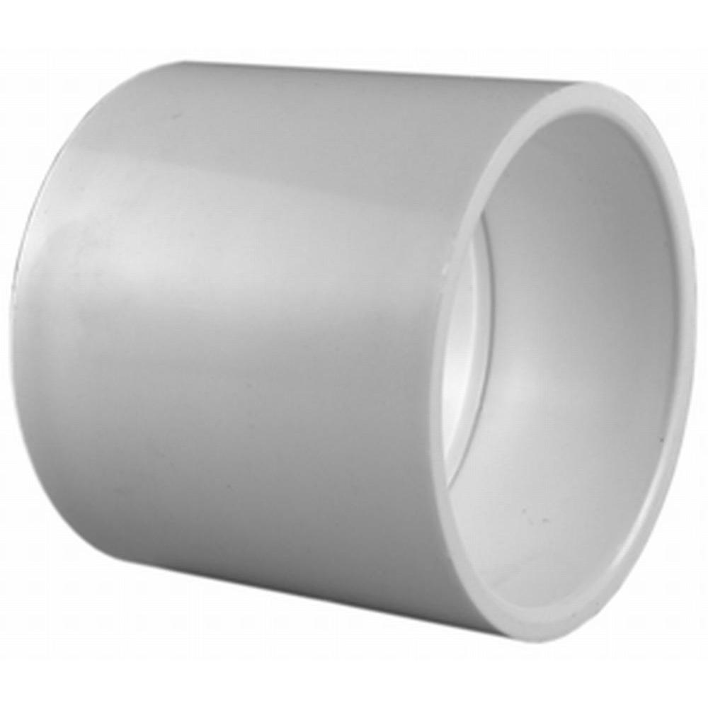 Charlotte Pipe 3/4 in. x 1/2 in. PVC Sch. 40 S x S Reducer Coupling