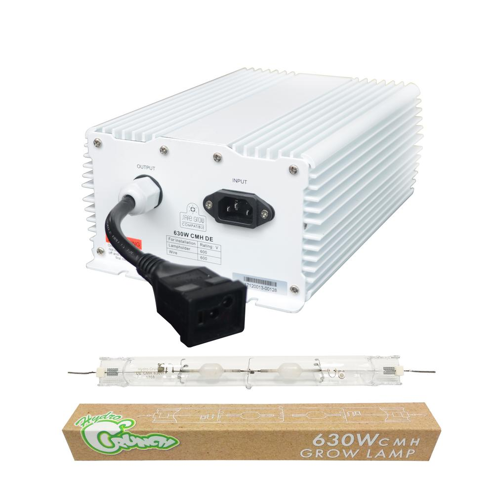 Heat Generated By Metal Halide Lamp: Hydro Crunch 630-Watt Double Ended Ceramic Metal Halide