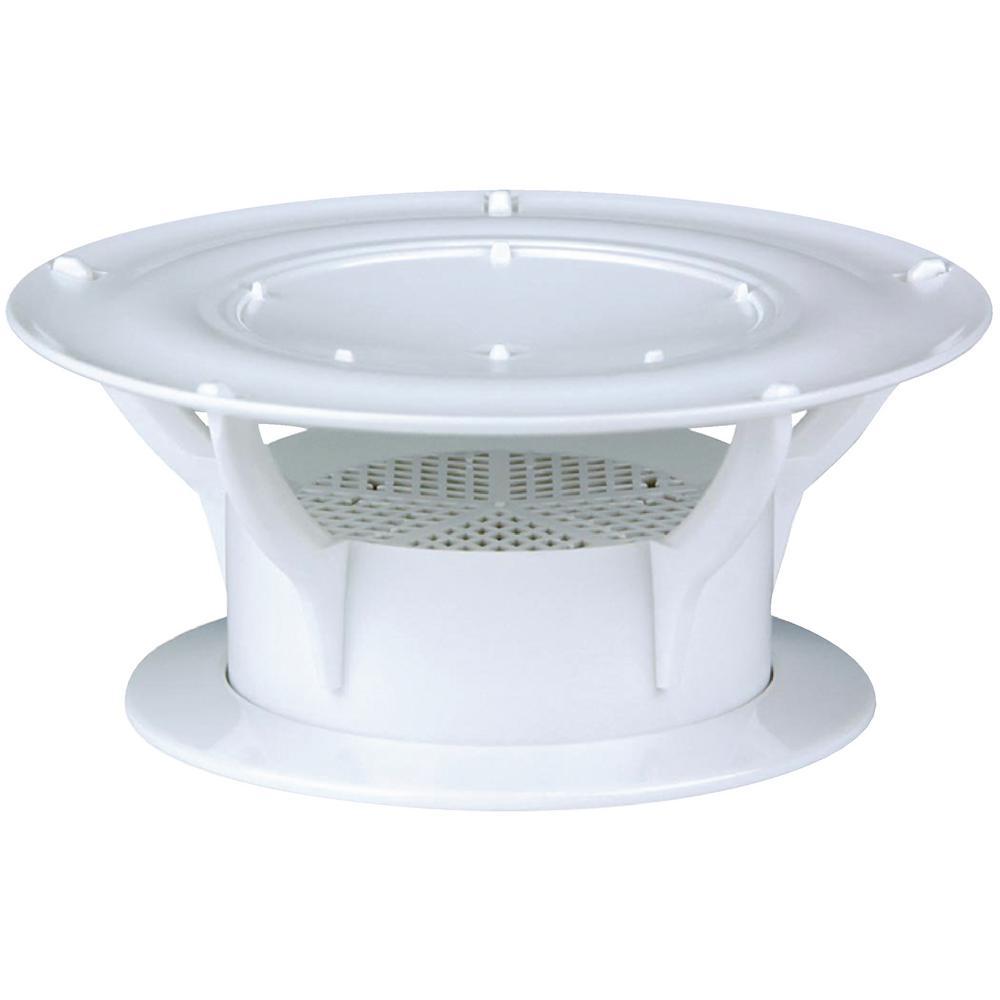 Lippert 360° Siphon RV Holding Tank Vent Cap - White
