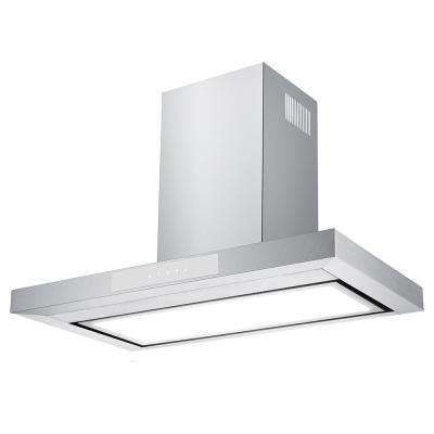 30 in. 600 CFM Convertible Wall Mount Range Hood with Light in Stainless Steel