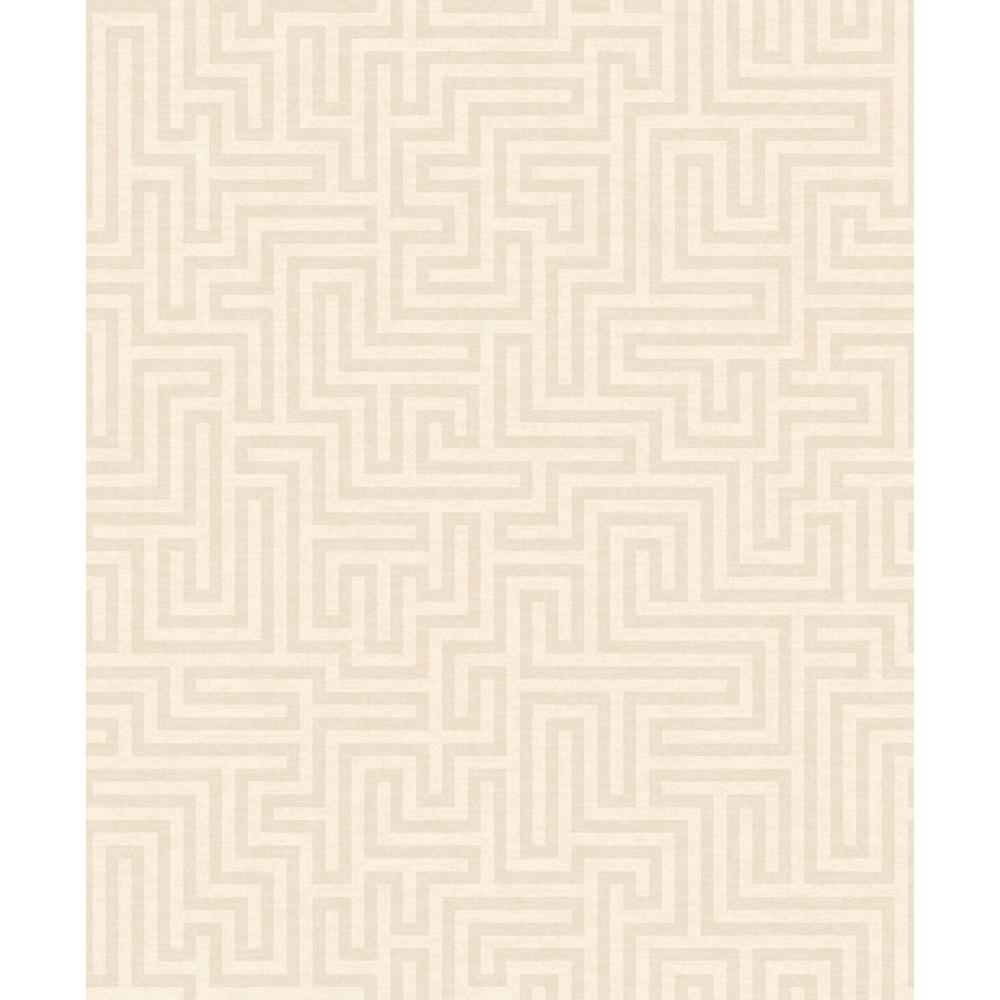 Walls Republic Cream Maze Wallpaper