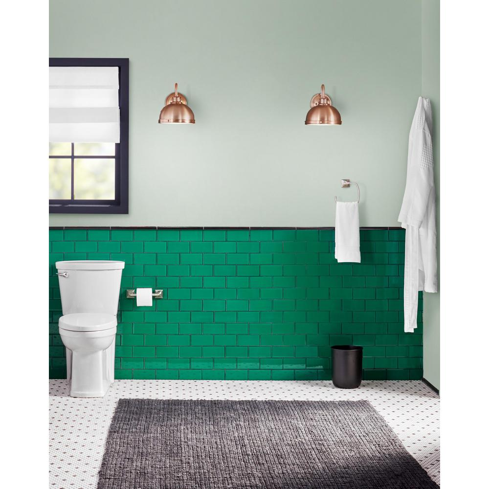 - Giorbello Emerald Green 3 In. X 6 In. X 8 Mm Glass Subway Tile