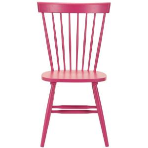 Brilliant Safavieh Riley Pink Wood Dining Chair Set Of 2 Amh8500D Andrewgaddart Wooden Chair Designs For Living Room Andrewgaddartcom
