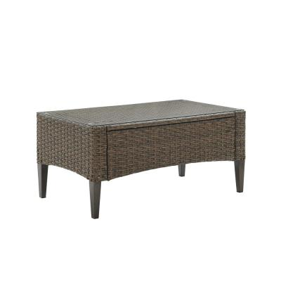 Rockport Wicker Outdoor Coffee Table