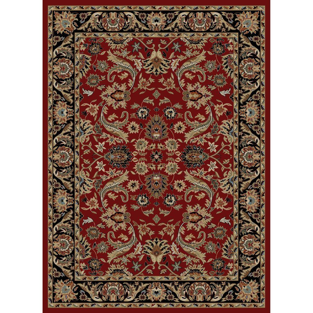 Concord Global Trading Ankara Sultanabad Red 6 ft. 7 in. x 9 ft. 6 in. Area Rug