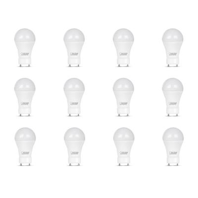 60-Watt Equivalent A19 GU24 Dimmable CEC Title 20 Compliant LED ENERGY STAR 90+ CRI Light Bulb Daylight, (12-Pack)