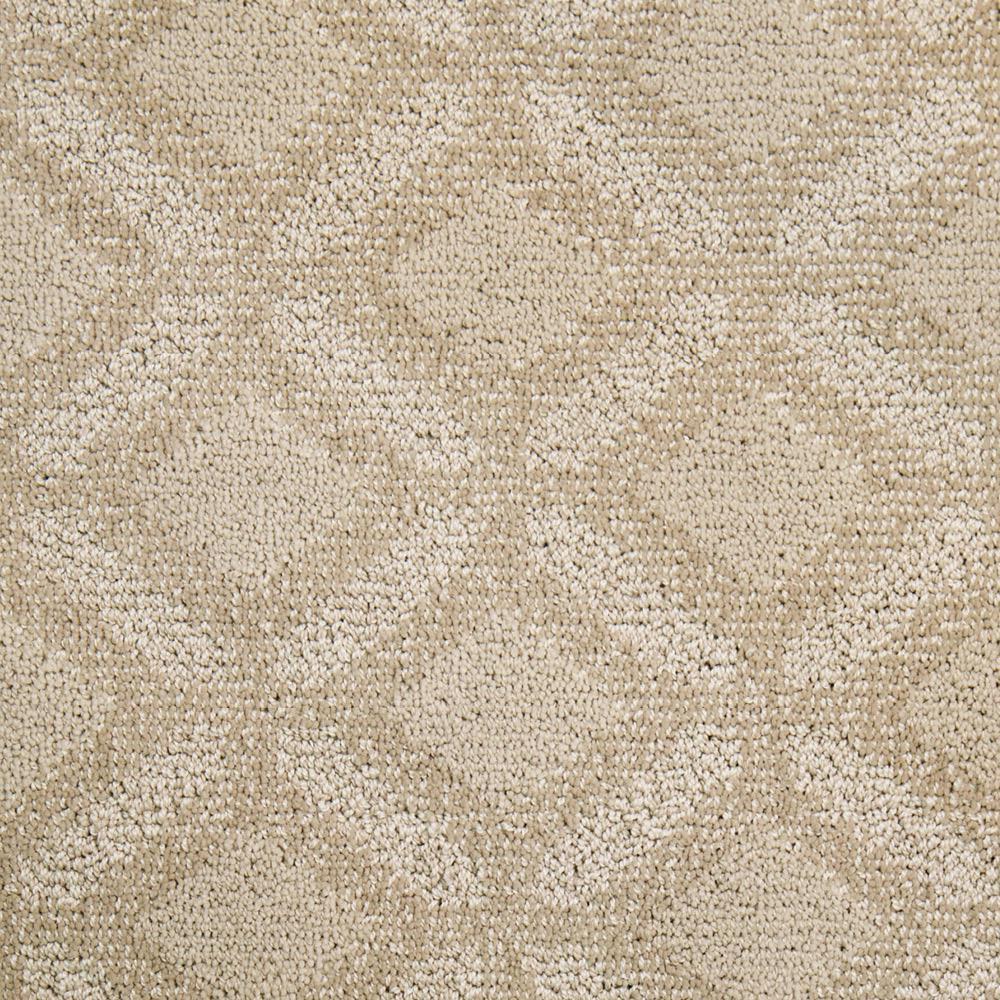 Carpet Sample - Fancy - Color Haylo Pattern 8 in. x 8 in.