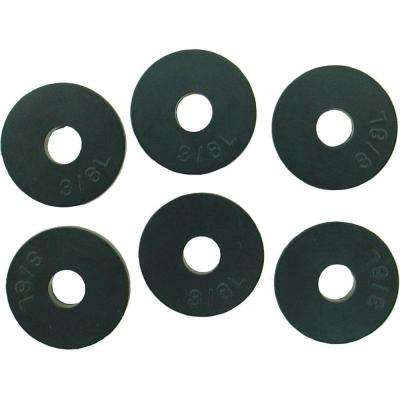 11/16 in. O.D. (3/8L Trade Size) Flat Faucet Washers (6-Pack)