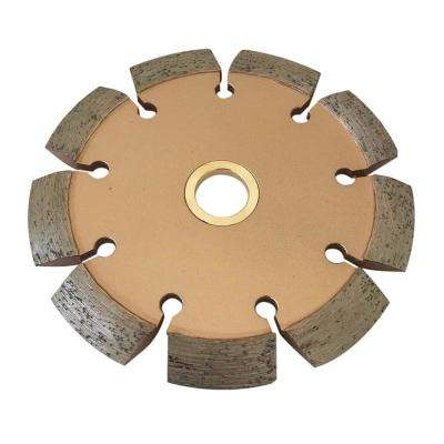 4 in. Crack Chaser Blade for Concrete and Asphalt Repair 3/8 in. W x 7/8 in. to 5/8 in. Arbor