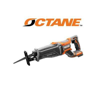 18-Volt OCTANE Lithium-Ion Cordless Brushless Reciprocating Saw (Tool-Only) with Reciprocating Saw Blade