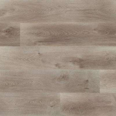 Pelican Gray 7 in. x 48 in. Rigid Core Rigid Core Luxury Vinyl Plank Flooring(55 cases / 1307.35 sq. ft. / pallet)