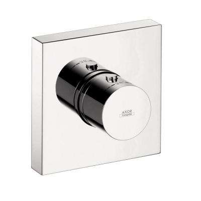 Axor Starck ShowerCollection 1-Handle Thermostatic Valve Trim Kit in Chrome (Valve Not Included)